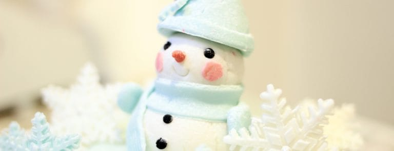 How to create a snowman cake