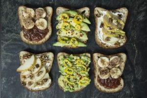 gluten free open sandwiches