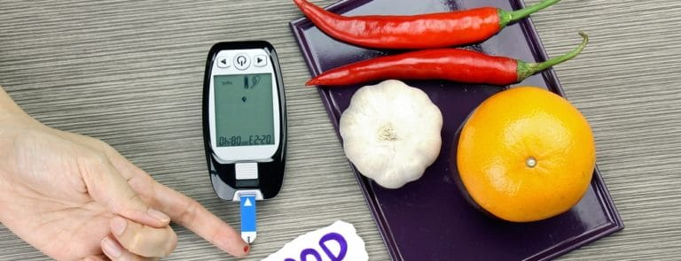 Keeping your blood sugars balanced with food image