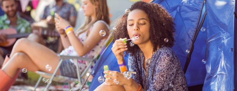 Festivals: essential beauty and skin-care products