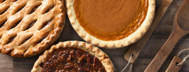 4 traditional pie recipes with a healthy twist