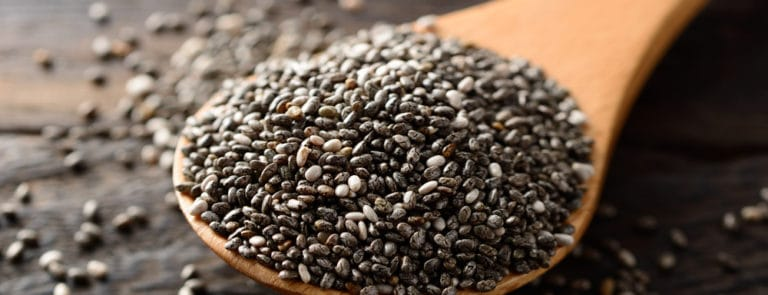 Chia seeds for strength and stamina