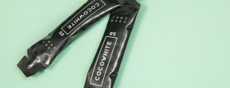 Cocowhite charcoal packets