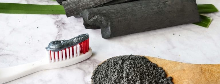 How to whiten your teeth with activated charcoal image