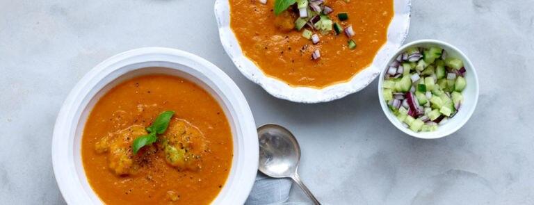 Vegan Roast Tomato Soup Recipe