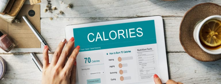 Stop counting calories for weight loss! image