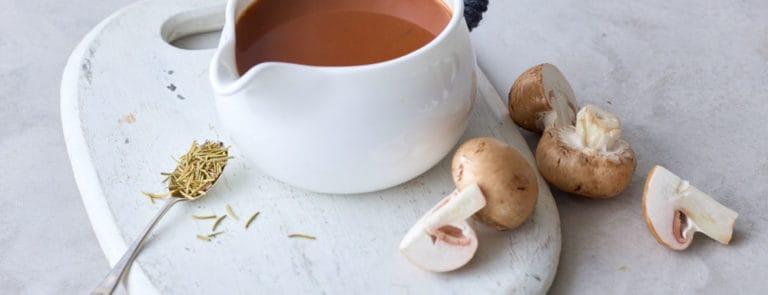 Vegan Comfort Food: Porcini Mushroom Gravy image