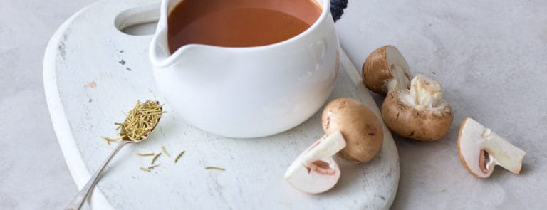 Vegan Porcini Mushroom Gravy Recipe