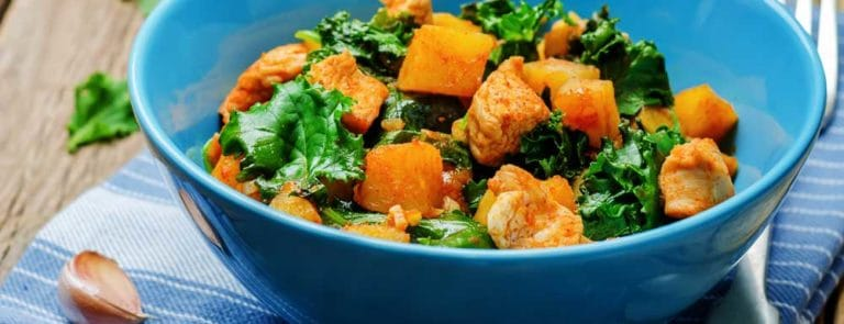 Kale, Apricot & Sweet Potato Salad Recipe