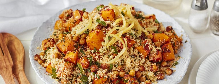 Lazy Weekend Recipes: Butternut Squash Moroccan Salad with... image