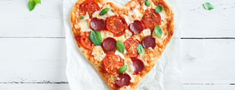 Meat-free Pepperoni Pizza image