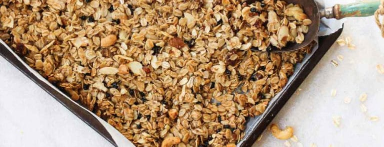 A high-energy, weight-gain granola image