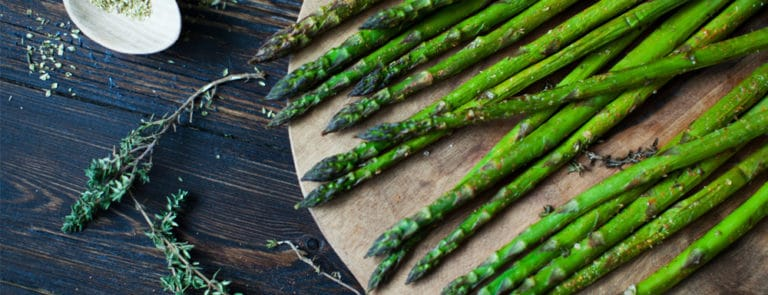 Charred Asparagus with Panch Phoran Recipe