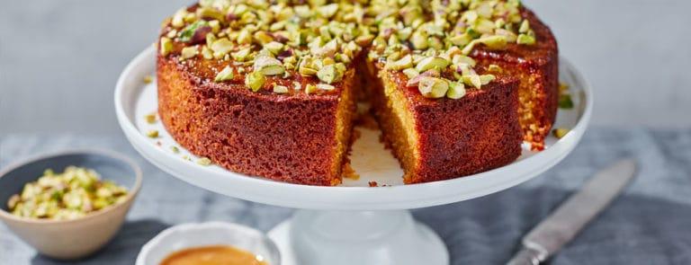 Manuka Honey & Orange Polenta Cake Recipe