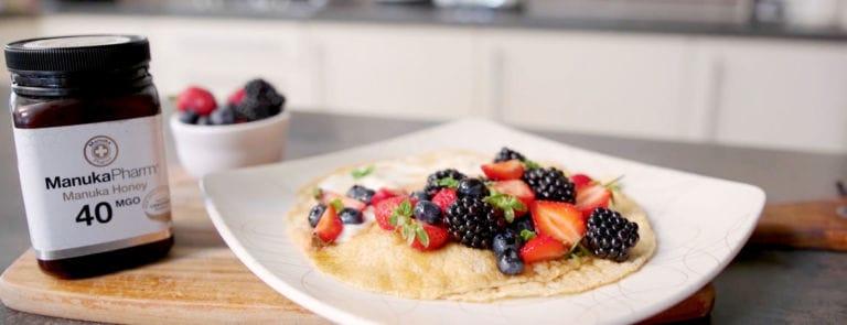Manuka Honey Pancakes