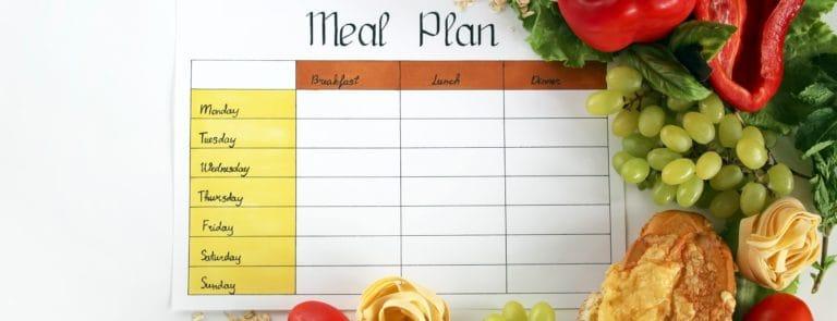 Vitamin rich meal plan image