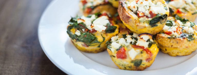 Frittata muffins for healthy eyes image