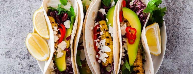 Black Bean and Avocado Tacos Recipe