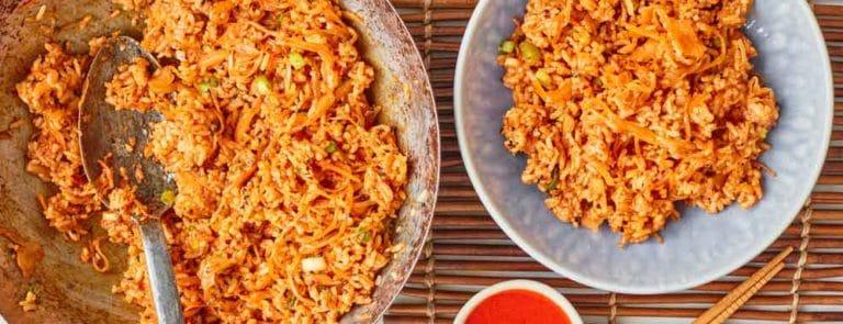 One Pot Dishes: Kimchi Fried Rice image