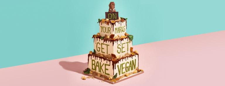 Vegan Banana Bread Cake image
