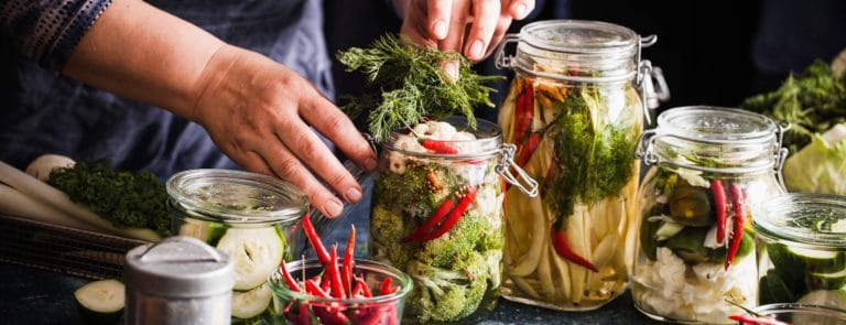 Fermented foods: fast facts image
