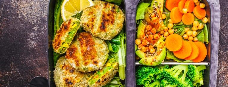 Easy vegan food swaps image