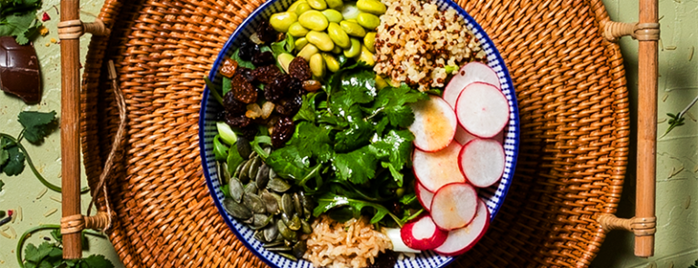 Nourishing Garden Veggie Bowl