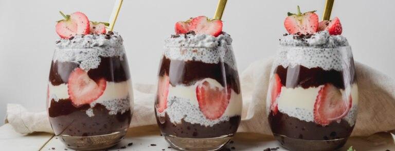 Chocolate & Chia Dessert