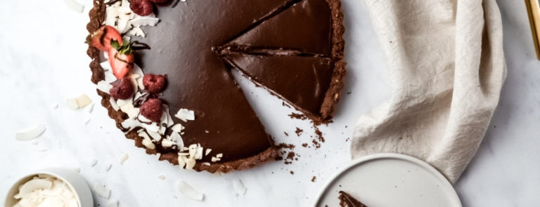 How To Make A Vegan Chocolate Tart