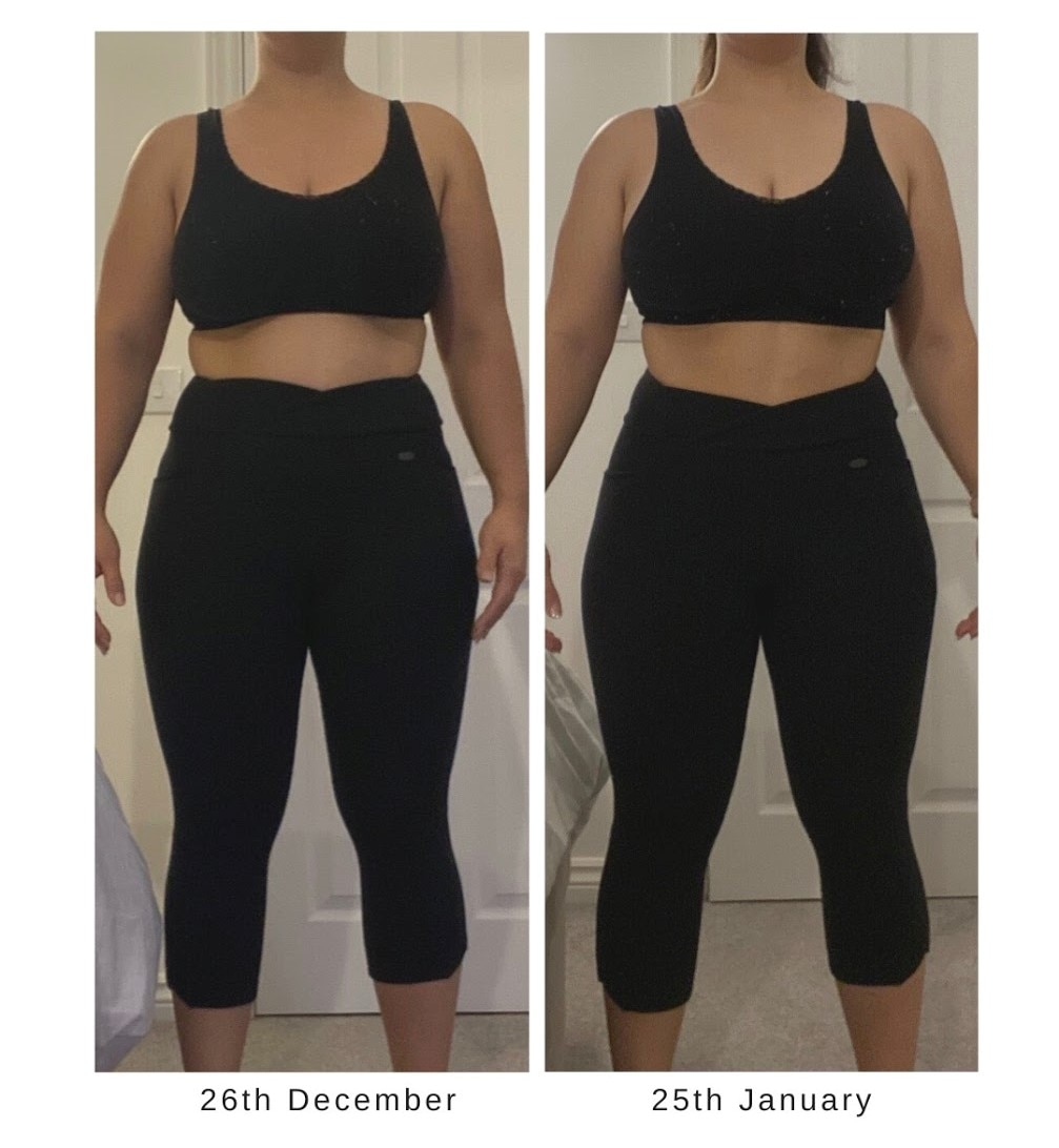 Jasmine Weight Loss Before and After