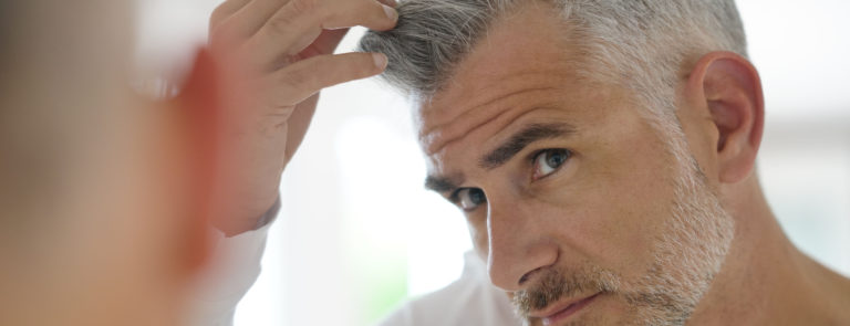 why does hair go grey?