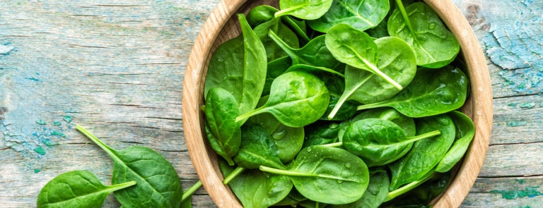 Healthy ways to cook and eat spinach image
