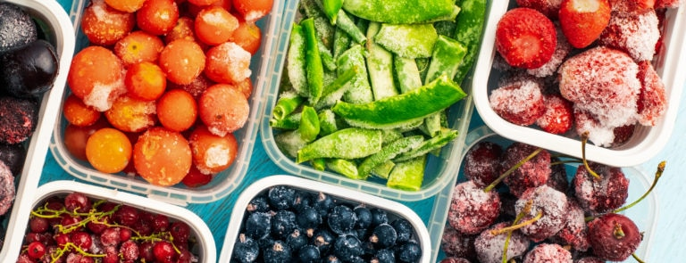 How to freeze vegetables & fruit image