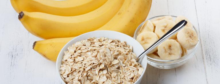 banana protein oats