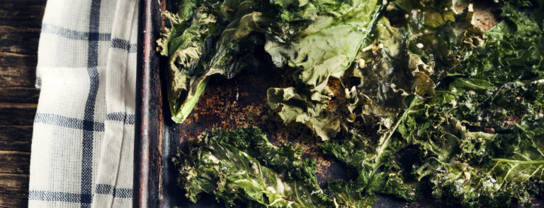 How to make kale chips image
