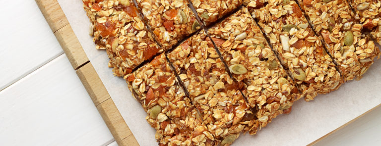 How to make healthy snack bars image