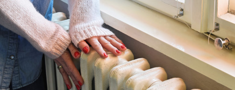 central heating could cause an eczema flare up