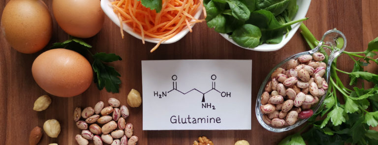 Foods high in glutamine