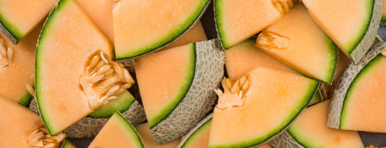 Cantaloupe melon are a low carb fruit