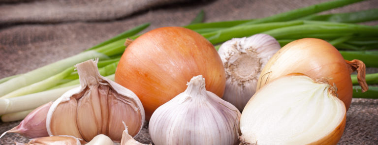 garlic and onion are high fodmap foods