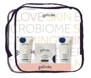 Gallinee skincare giftset bundle.