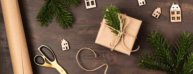 Sustainable Christmas wrapping ideas