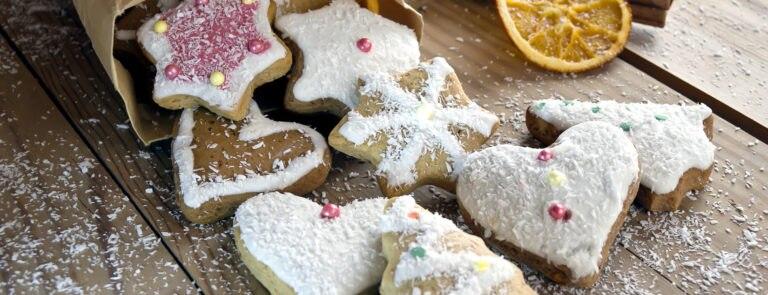 Gluten-Free Festive Biscuits