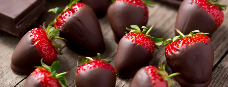 Vegan chocolate-coated snacks
