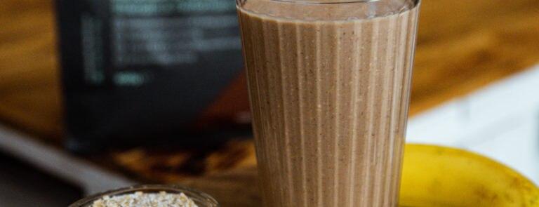 Chocolate & Banana Protein Shake Recipe