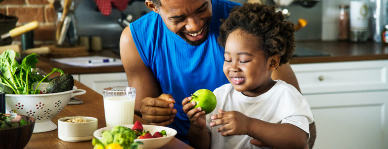 The benefits of healthy eating image