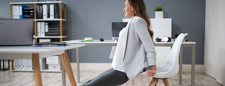 exercises to do at your desk