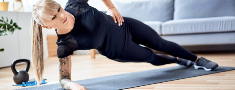 How To Do Different Types Of Planks | Holland & Barrett